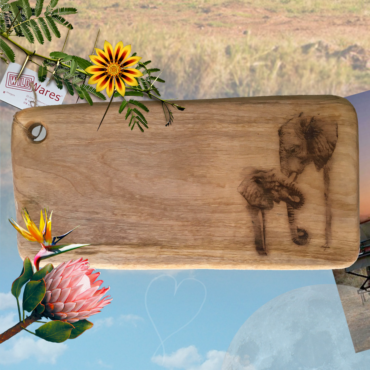 Wild Wares Cutting Boards and Grazing Platters