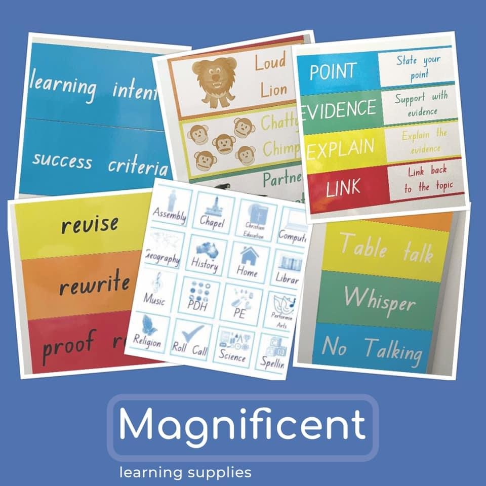 Magnificent Learning Supplies