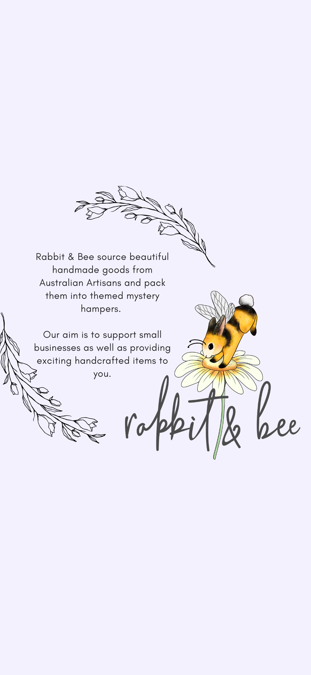 Rabbit and Bee