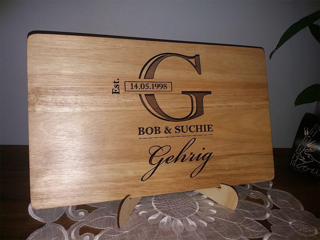 Customised Chopping Boards, Cheese Boards and Serving Boards